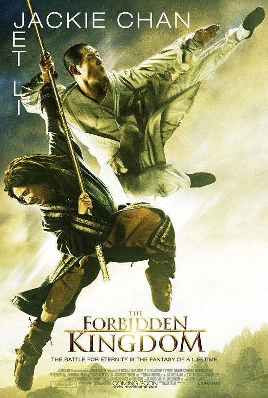 O Reino Proibido Forbiddenkingdomcartaz