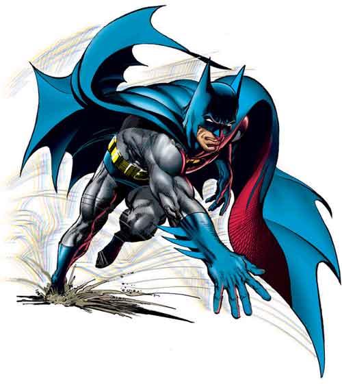 Semelhanças entre personagens de comics e de mangá Batman_adams_1