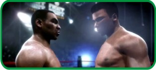 Tyson vs. Ali em Fight Night Round 4