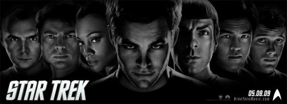 Novo banner de Star Trek traz a tripulação completa