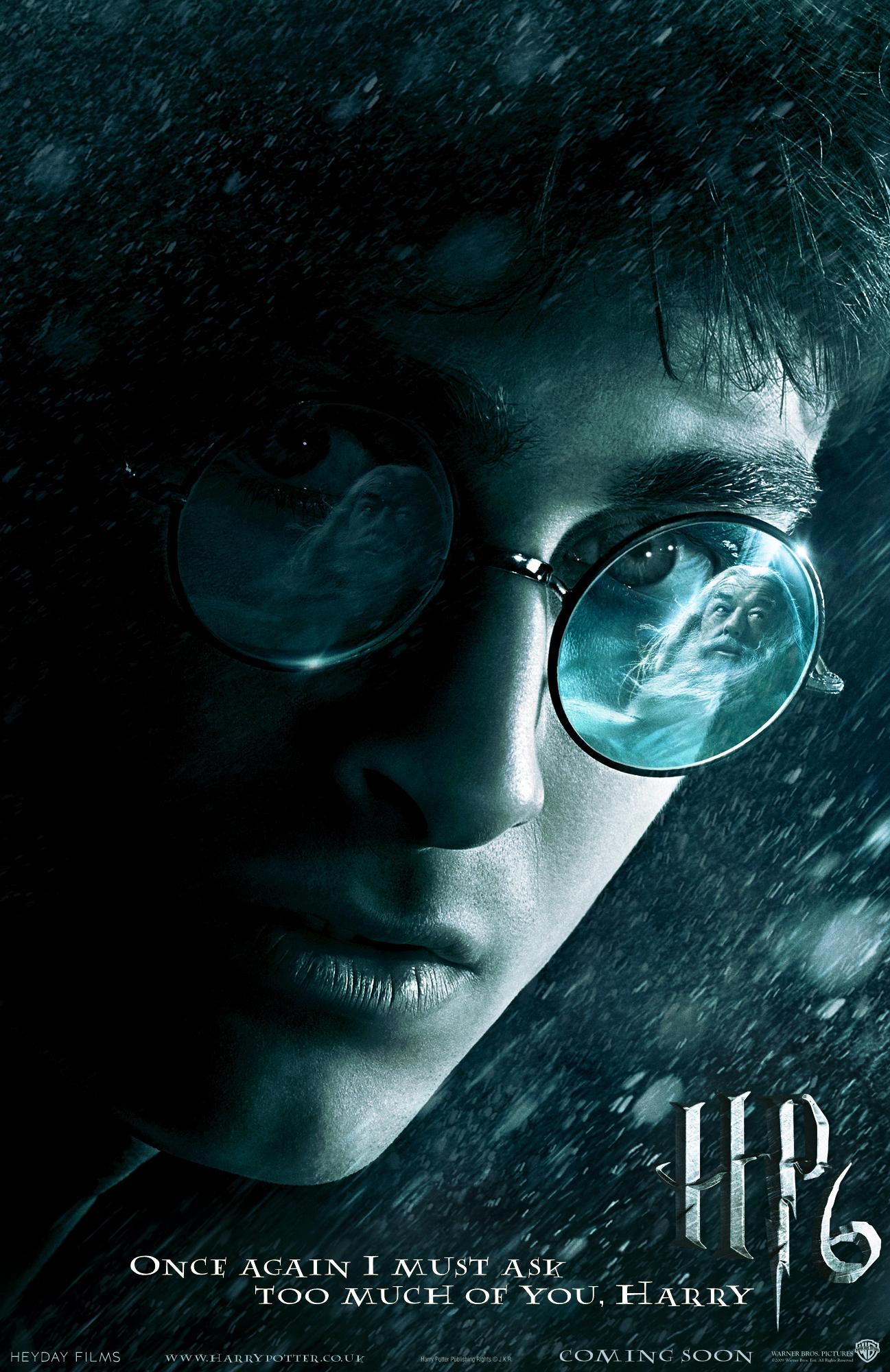 hphires1 O que ficou de fora do sexto filme de Harry Potter?