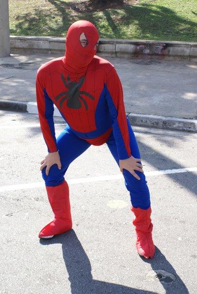 Exemplo de como o Aranha ficou visto após o terceiro filme