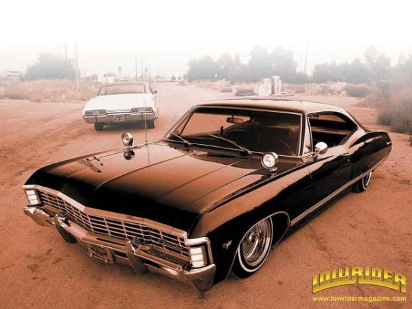 Chevy Impala 1967 deixado por John Winchester. Pai generoso esse, não?