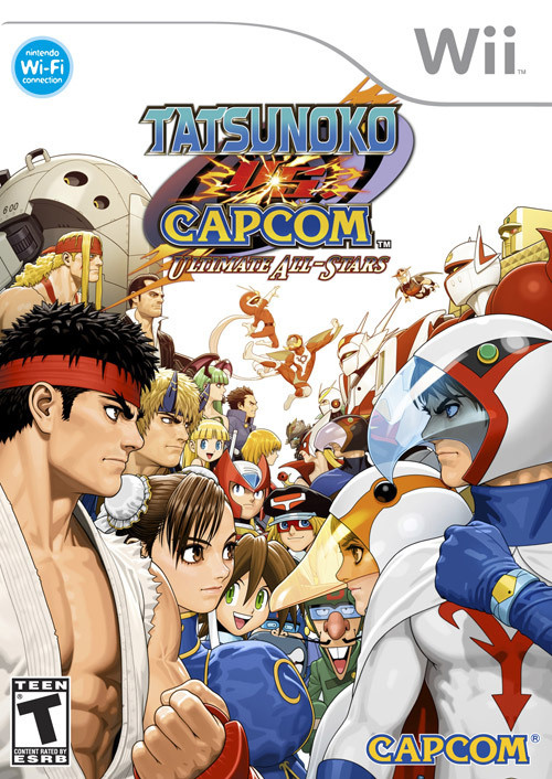 Tatsunoko vs Capcom Ultimate All Stars_Wii