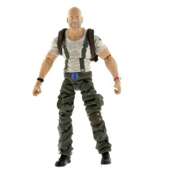C@#$%lho, é um boneco do Bruce Willis!!!