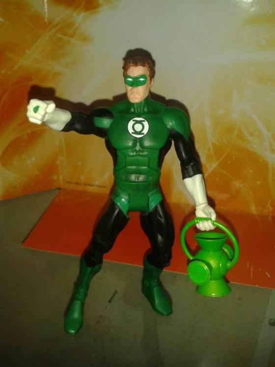 Lanterna Verde também da linha Direct DC. O boneco que faltava na sua coleção! E na minha também...