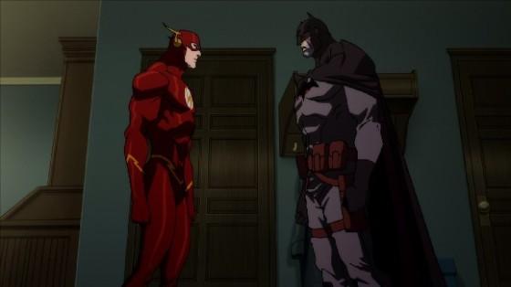 Tudo mudado. Agora Thomas Wayne é o Batman e Bruce morreu quando criança.