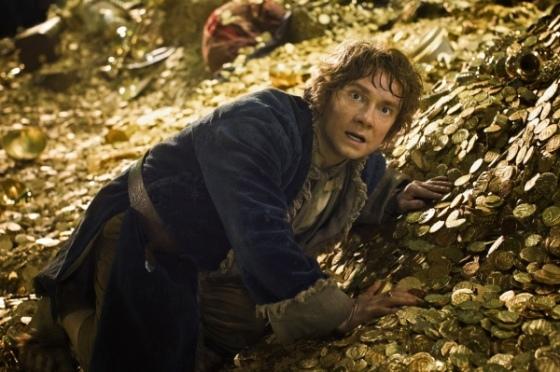 Bilbo virou à esquerda em Albuquerque e acabou no cofre do tio patinhas