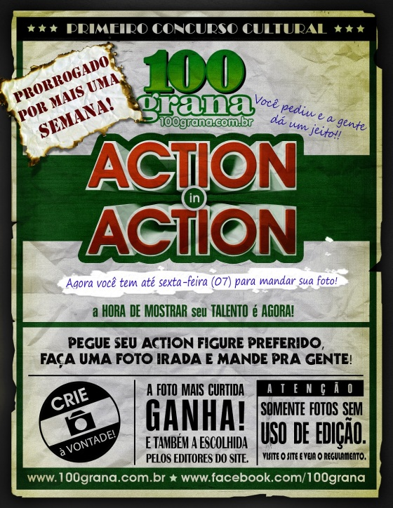 CARTAZ ACTION IN ACTION-PRORROGACAO