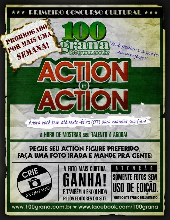 CARTAZ ACTION IN ACTION-PRORROGACAO