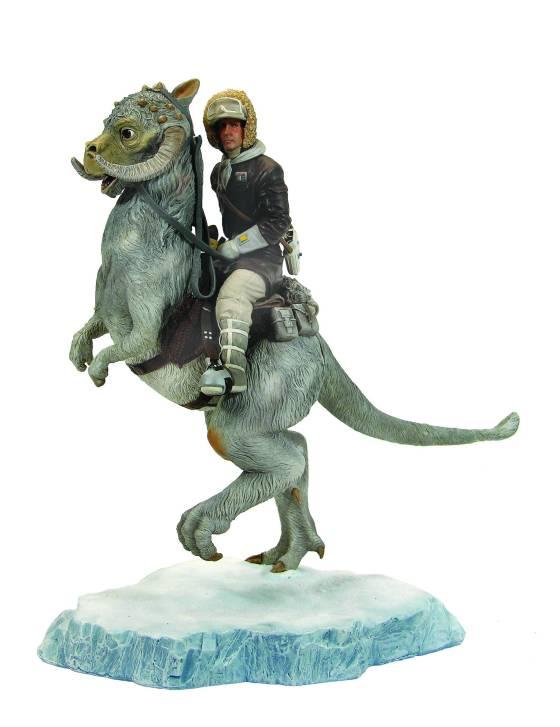 Han Solo On Tauntaun Statue