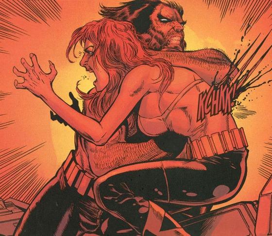 Wolverine mata Jean Grey em New X-Men #148 October 2003. Diz uma novidade....