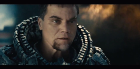 Zod vesgo com a visão de raio-x.