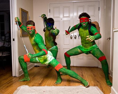 Brother que é brother se pinta de tartaruga!