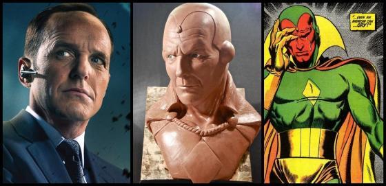 Tinha tanta gente empolgada com a ideia que até fizeram um modelo para imaginar a versão Coulson Vision.
